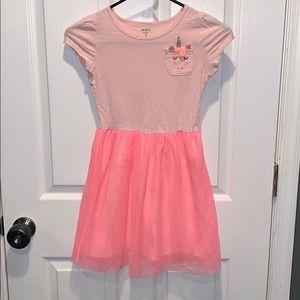 Size 8 Carter's Unicorn Tulle Dress